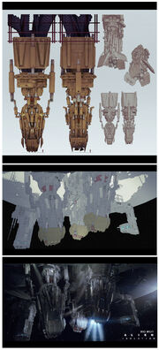 Alien Isolation Concept Art BW gravity-anchor