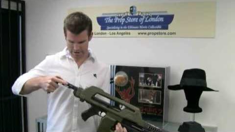Prop Store Of London Aliens Alien 3 Pulse Rifle
