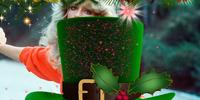 Christmas Leprechaun Hat