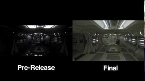 Alien Isolation Components Warehouse Comparison