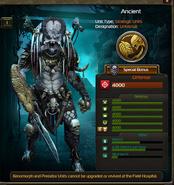 Ancient Predator clone