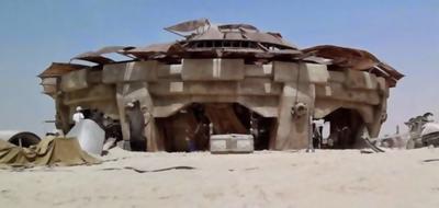 The desert cottage