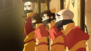 Tenzin and his children captured