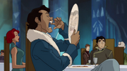 Varrick paying no attention