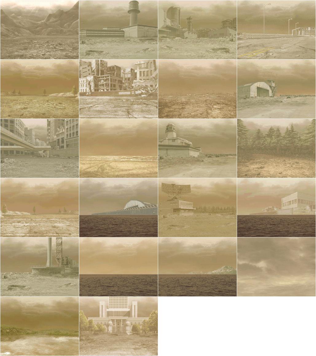 Backgrounds - Desert