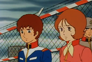 Amuro and Fraw