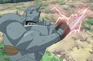 Alphonse While Fighting Kimblee & Pride 2