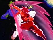 Goku Fighting Pikkon