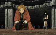 Alphonse Elric With Wrath Underneath Central in Conqueror of Shamballa