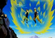 Goku & Majin Vegeta Powering up