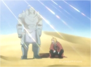 The Elric Brothers in the Desert on Their Way to Liore