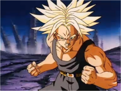 Trunks Determined to Stop Broly