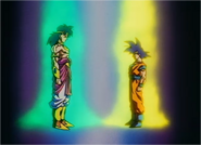 Goku Meets Broly on New Vegeta