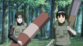 Sai and rock lee with sealing tools by theboar-d5ix1a5