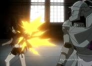Wrath Firing His Machine Gun Arm 2