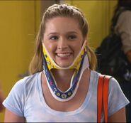 Lissa in her neckbrace again