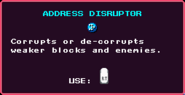 Address Disruptor Pickup