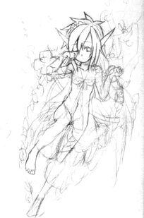 Titania Sketch 2