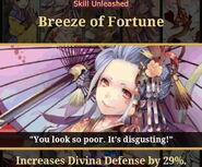 Goddess of Good Fortune Skill