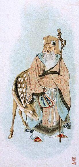 282px-Jurojin with deer