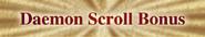 Daemon Scroll Bonus Heading