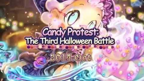 【Ayakashi Ghost Guild】Candy Protest The Third Halloween Battle【English Version】