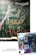 Dojigiri Mt. Fuji Chalk Fanart