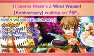 Wind Weasel Anniversary Reward Box