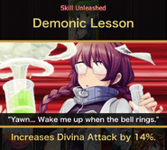 Goddess of Poverty Academy Skill