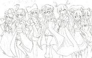 Seventh Heaven Sketch