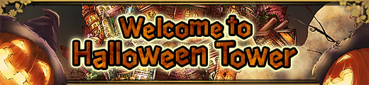 Welcome to Halloween Tower banner