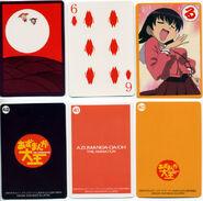 Azumanga playing cards
