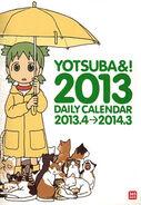 Yotsuba calendar daily 2013