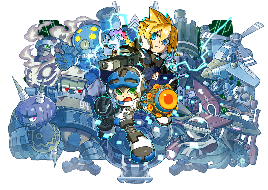 Image result for mighty gunvolt burst