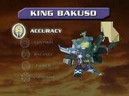 King Bakuso Stats