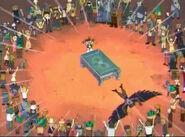 Yamato beats Crow
