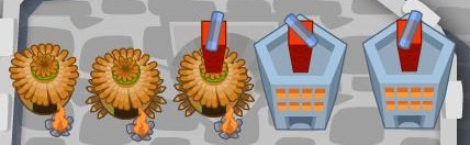 BTD Towers vs PvZ Plants : Prelude 1/2 by sooshirohl on