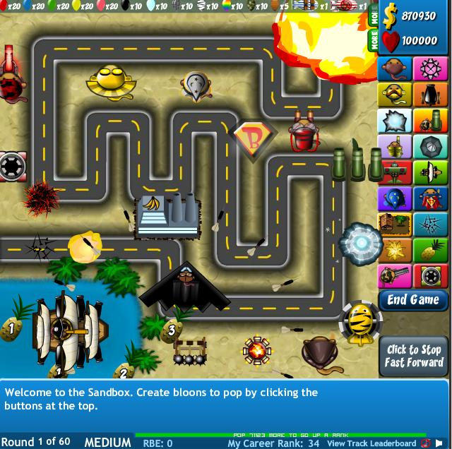 Bloons Tower Defense 4 Game Towers Bloons Wiki