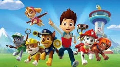 """Paw Patrol - Chase Why Wont Skye """"Stay"""";*("""