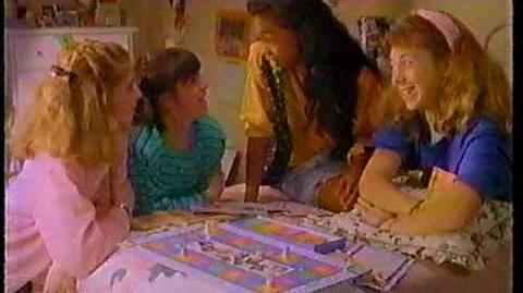 The Babysitters Club Board Game 1994