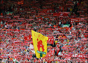 Anfield scarves