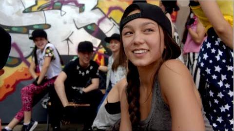 Backstage – Episode 11 Courtyard Hip-Hop Flash Mob