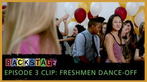 Backstage – Episode 3 Freshmen Dance-Off