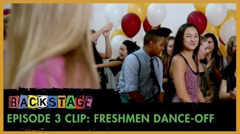 Backstage Episode 3 Clip - Freshmen Dance-Off