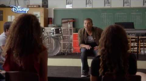 Disney Channel España Las actuaciones de Backstage - Clases de música
