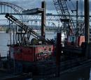 Everett Backstrom's barge