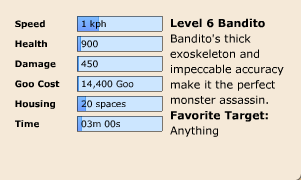 Bandito Stats