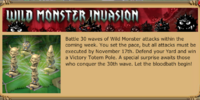 Wild Monster Invasion