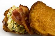 Crisp Pancetta and Egg Salad Sandwich