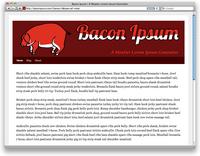 Bacon Ipsum